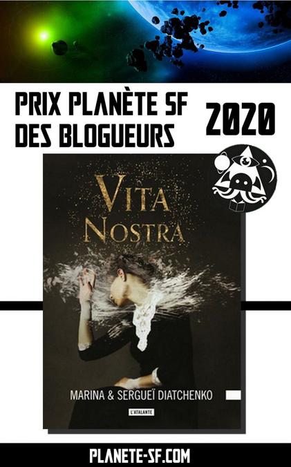 Vita Nostra prix Planète SF 2020